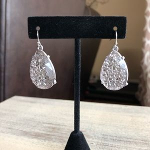 Teardrop Earrings Jaclyn Smith